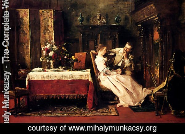 Mihaly Munkacsy - Flitterwochen (or Honeymoon)