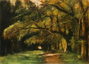 Park in Colpach 1886