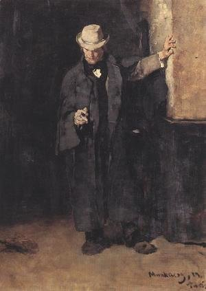 Mihaly Munkacsy - Study to the Pawn Office 1873 74