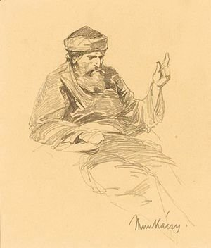 Study Of An Arab Man
