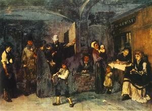 Mihaly Munkacsy - Pawn Office