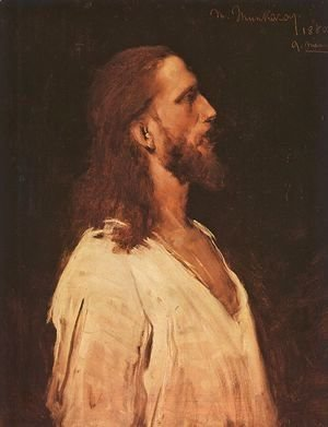 "Study for ""Christ before Pilate"" (Tanulmany a Krisztus Pilatus elott cimu kephez)  1880"